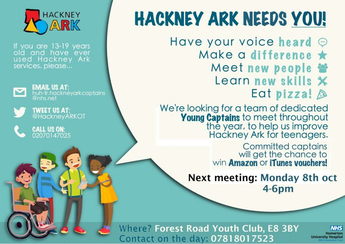 Hackney Ark Young Captains