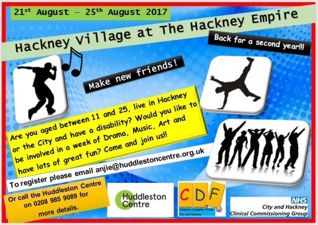 Hackney Village Flyer 2017