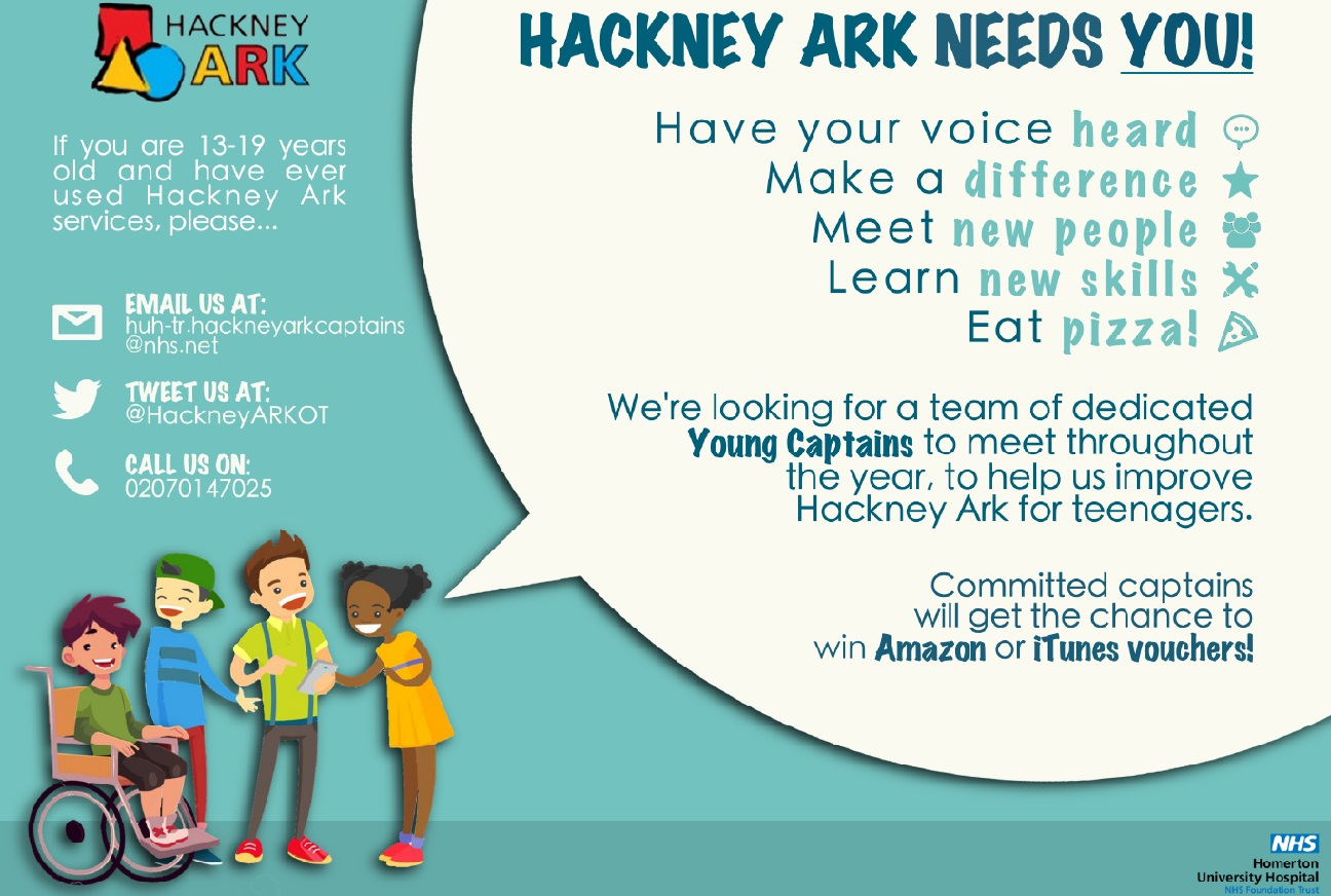 Young Captains Event Hackney Ark