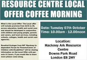 coffee morning local offer